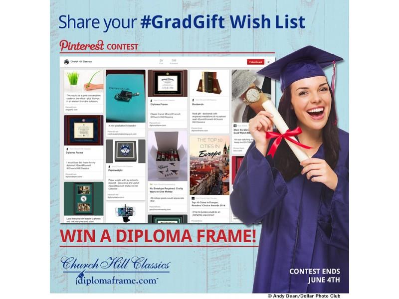 Church Hill Classics Launches #GradGift Wish List Pinterest Contest ...