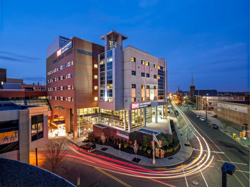 Robert wood johnson university hospital reports major for Johnson s farm nj