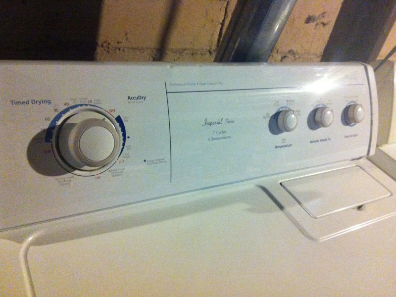 for sale whirlpool matching set washer u0026 gas dryer