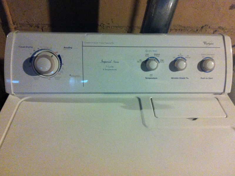FOR SALE: Whirlpool Matching Set Washer & Gas Dryer | Fox Point, WI ...