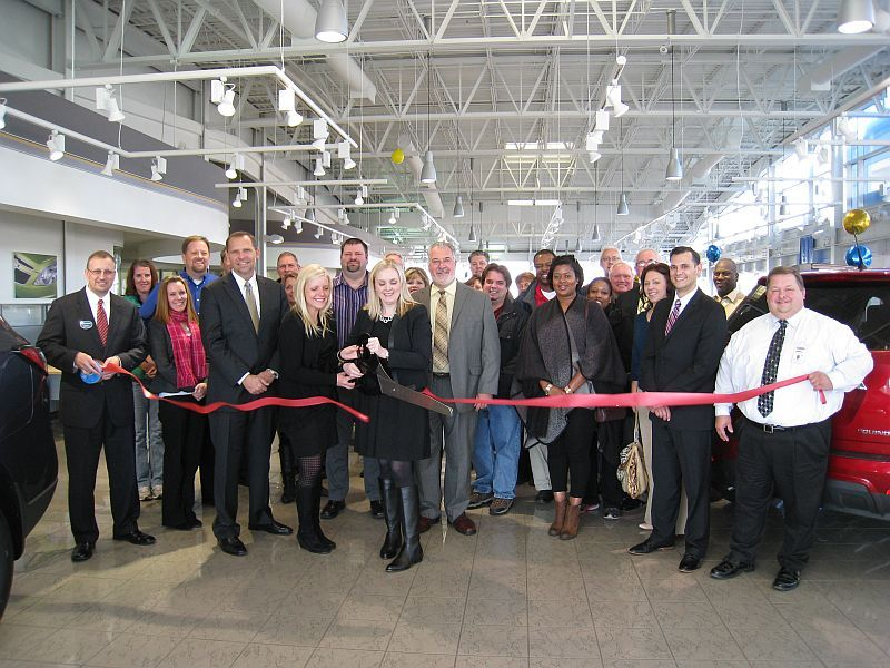 Webb Chevrolet >> Webb Chevrolet Held Its Ribbon Cutting With The Plainfield Area