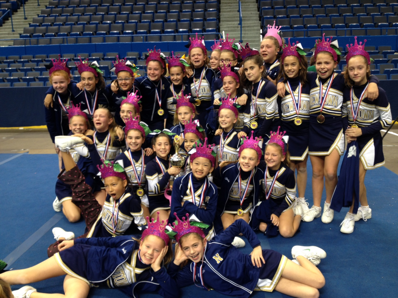Newtown Cheerleaders on the Road to Nationals | Newtown ...