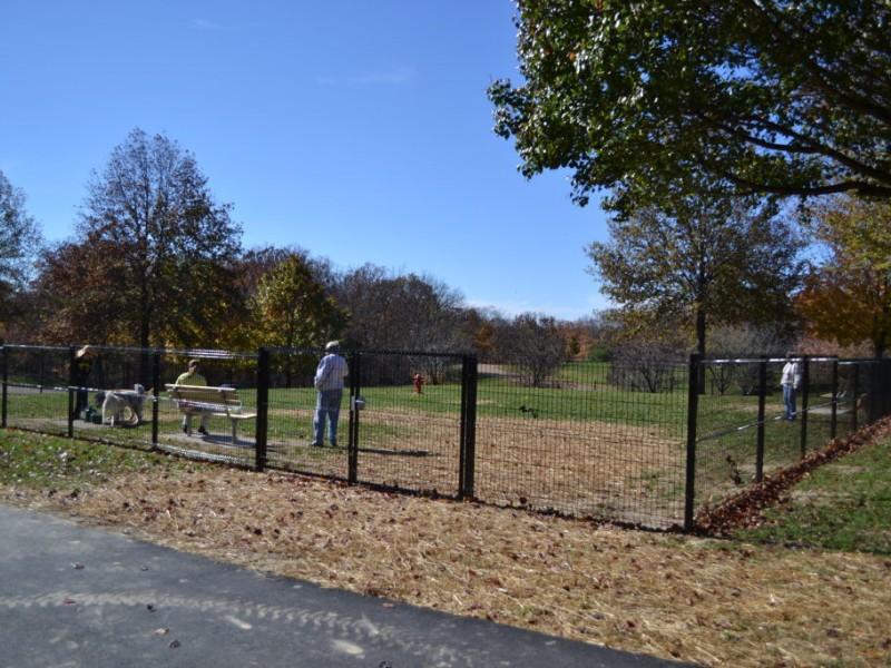 Ellisville dog park opens in bluebird park ballwin mo patch - Riverview gardens school district jobs ...
