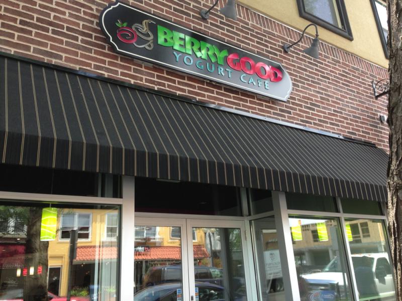 Berry Good Frozen Yogurt Cafe Patchogue Ny