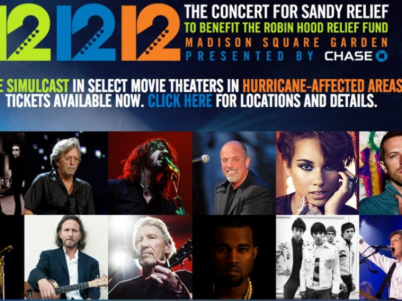 12-12-12 Concert to Benefit Hurricane Sandy Victims