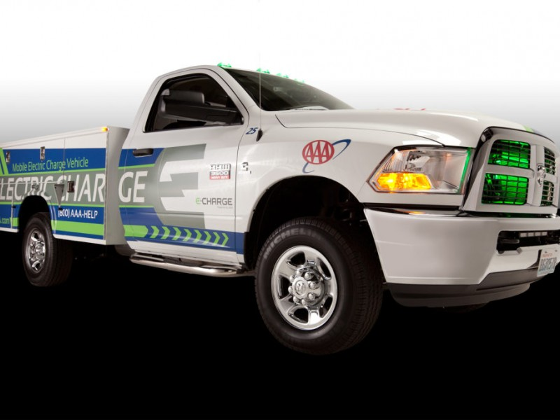 AAA Debuts Emergency Charging Truck for Electric Vehicles