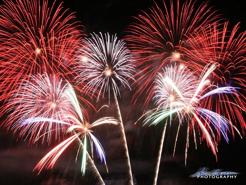 New Years Eve Fireworks At Hampton Beach