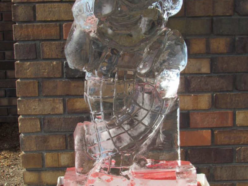 Viewfinder Downtown Ice Sculptures Look Chill Wyandotte