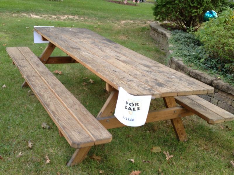 Tremendous Picnic Table For Sale East Windsor Nj Patch Ibusinesslaw Wood Chair Design Ideas Ibusinesslaworg