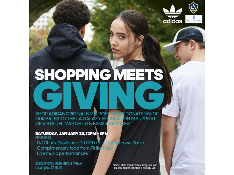 The La Galaxy Foundation Adidas Help The Children Of Vista Del Mar