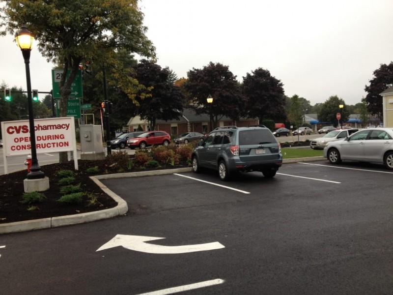 cvs parking lot is it just me medfield ma patch