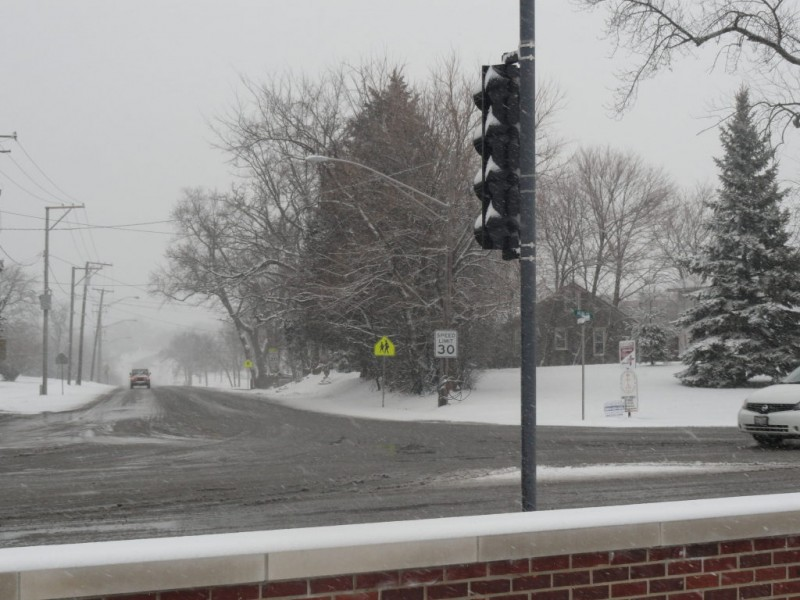 how much snow fell in your neighborhood