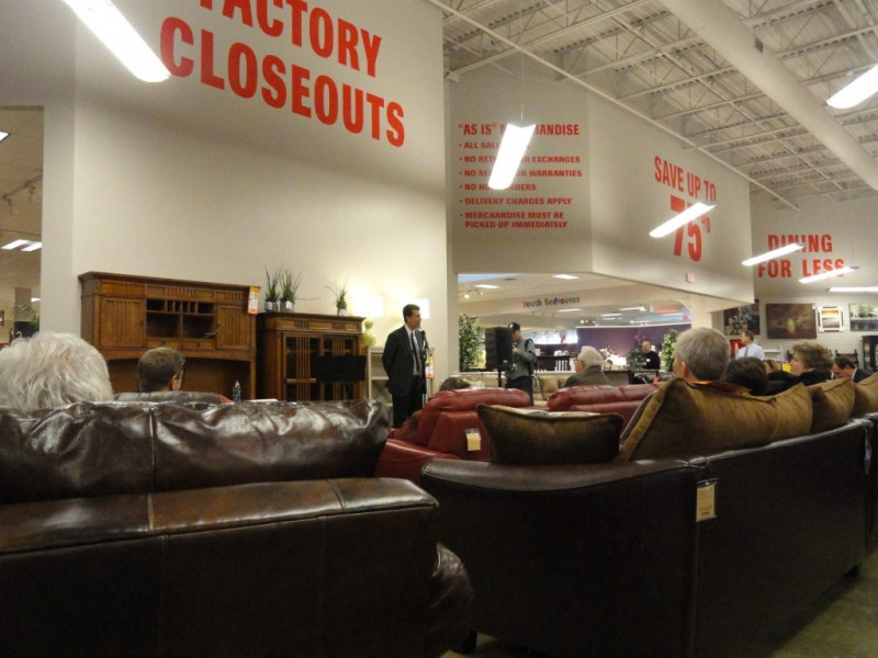 Beau ... Steinhafels CEO Discusses Furniture Industry, Vernon Hills Store 0 ...