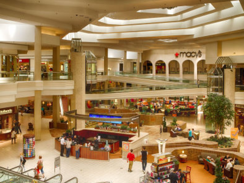 Shopping malls started in 1976
