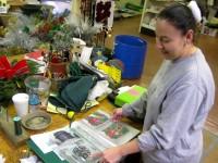... Cedar Grove Garden Center Prepares Personalized Wreaths For The  Holidays 7 ...