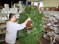 ... Cedar Grove Garden Center Prepares Personalized Wreaths For The  Holidays 3 ...