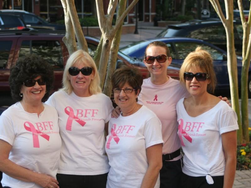 Breast cancer quarter