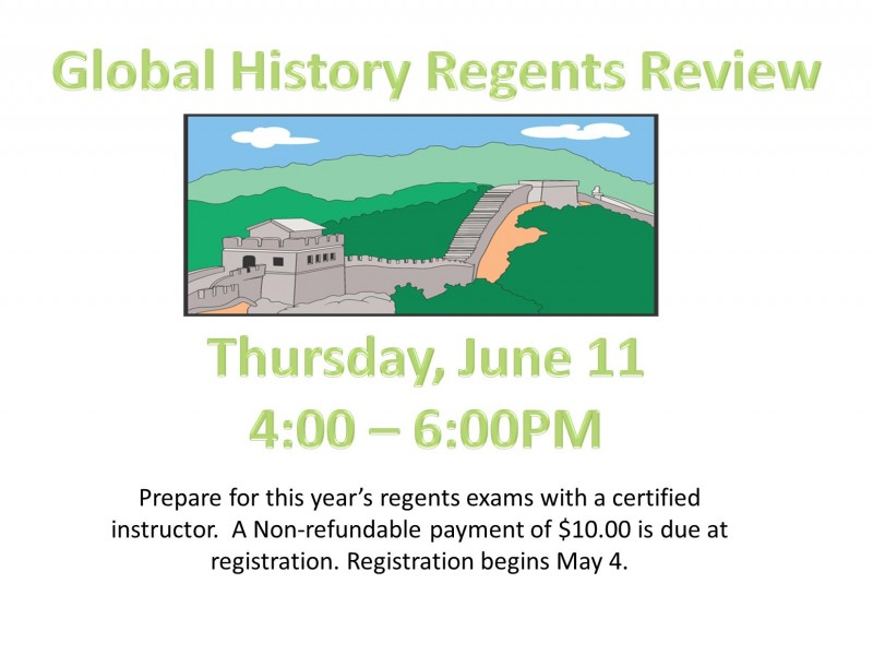 Global History Regents Dbq Essay Topics