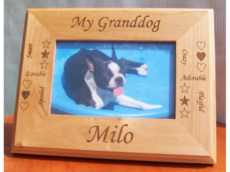 personalized granddog picture frame only 2495 culver city ca patch