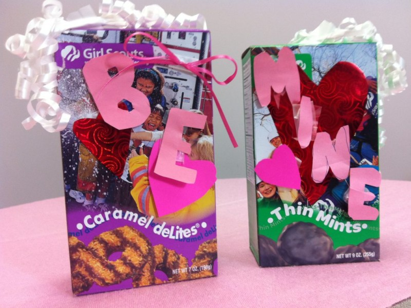 treat your valentine to a box of girl scout cookies | milton, ma patch, Ideas
