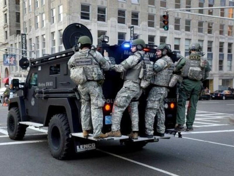 Milton SWAT Officer Discusses Bombing Response, Watertown Manhunt ...