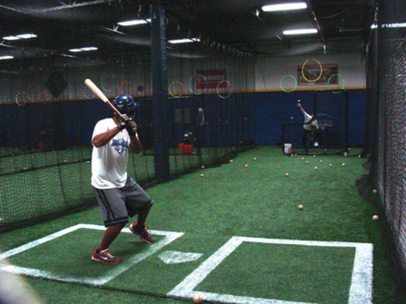 ... Take Me Out To The Batting Cage   Baseball In Full Swing At Frozen  Ropes  ...