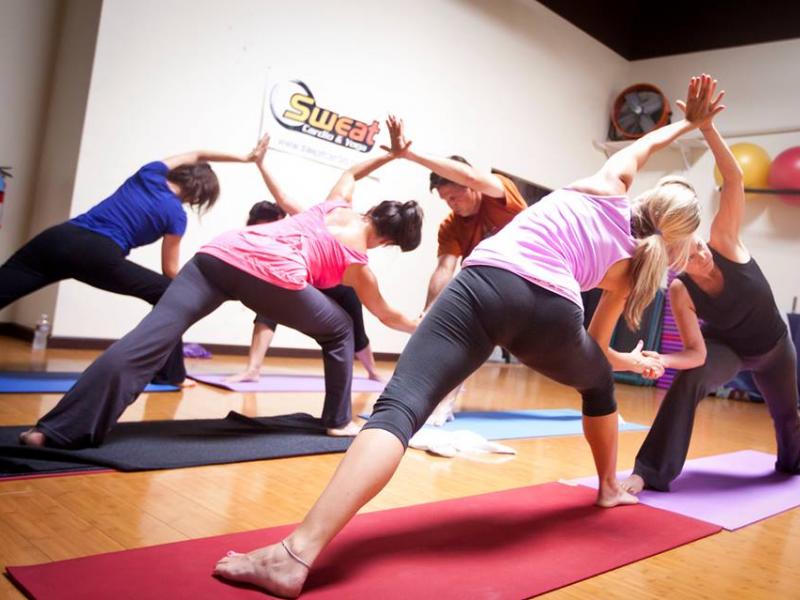 Valentine S Day Partner Yoga Sweat Cardio Temecula Ca Patch