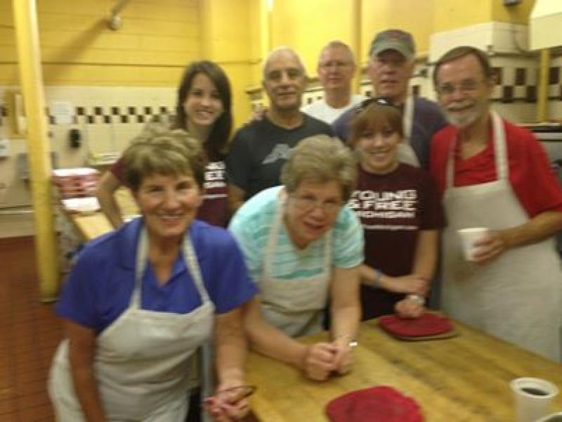 Volunteering For Soup Kitchen In Detroit