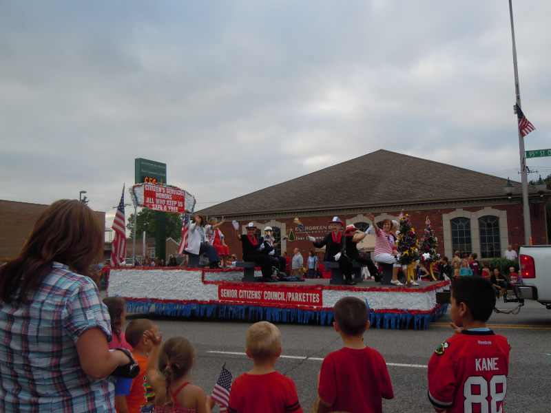 Can T Rain On This Parade Evergreen Park 4th Of July