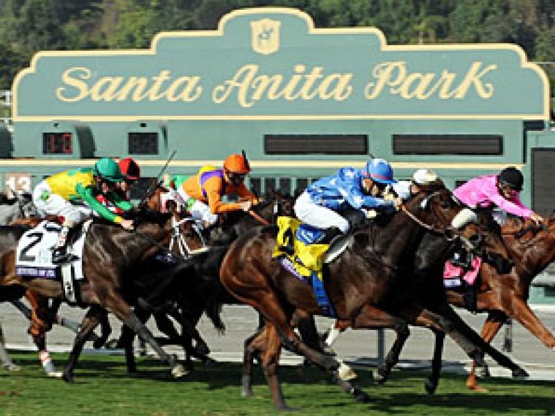 Santa Anita Race Track Glendora Ca Patch