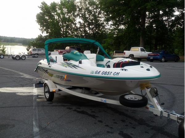 Tire Patch Cost >> 2000 SEA-DOO CHALLENGER twin engine jet boat - Cumming, GA ...