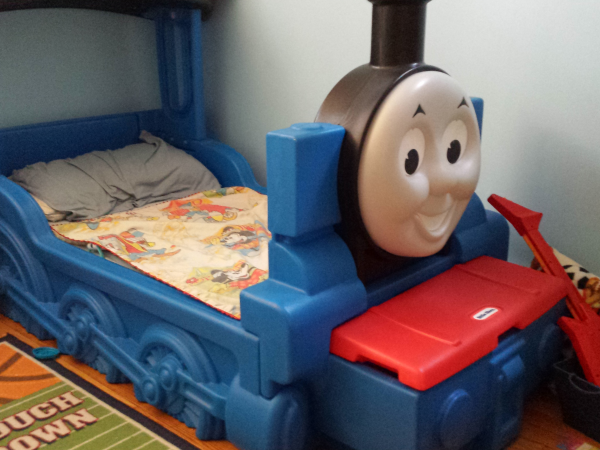 Little Tikes Thomas The Train Toddler Bed 150