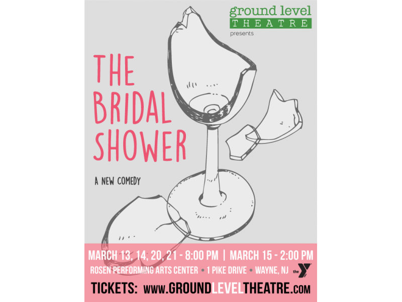 ground level theatre presents the bridal shower at the