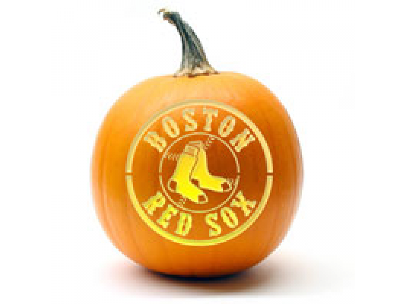 Its Red Sox Pumpkin Carving Time