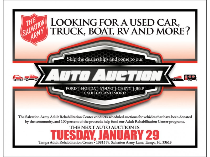 Salvation Army Car Dealership