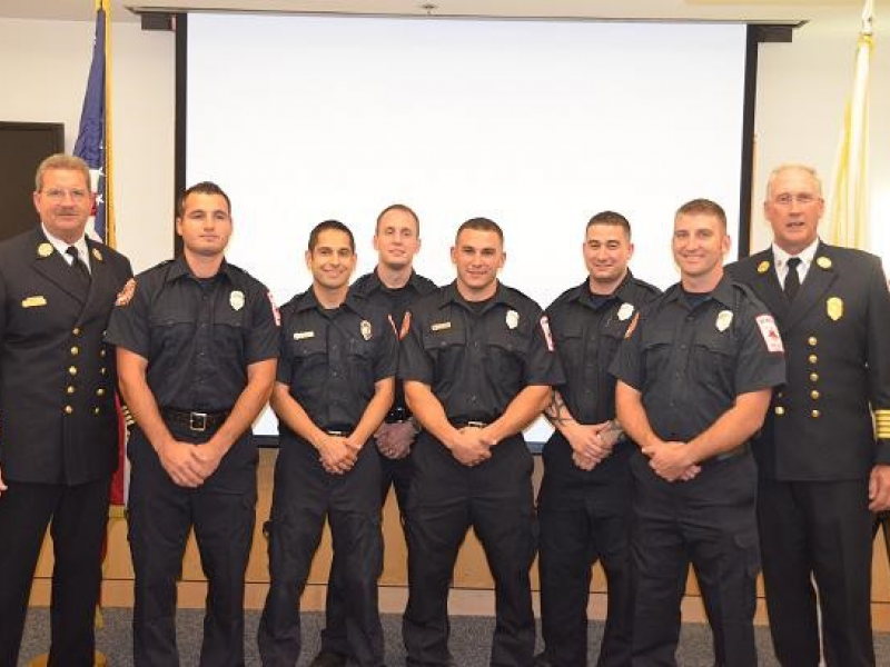 Wilmington Welcomes Six New Firefighters | Wilmington, MA Patch