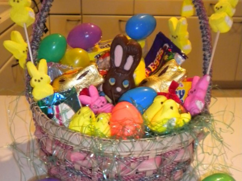 How to make a bunny cake and a traditional easter basket how to make a bunny cake and a traditional easter basket 0 negle Gallery
