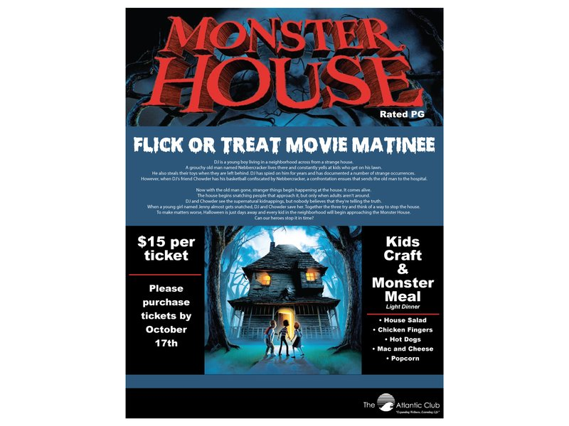 Flick Or Treat Movie Matinee Wall Nj Patch
