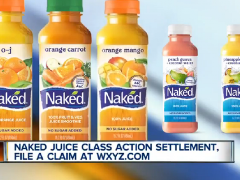 Naked Juice Class Action Settlement • Guide2Free Samples
