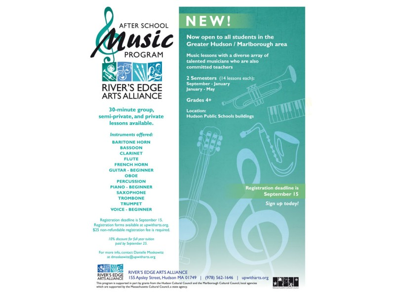Registration Now Open for New After School Music Program ...