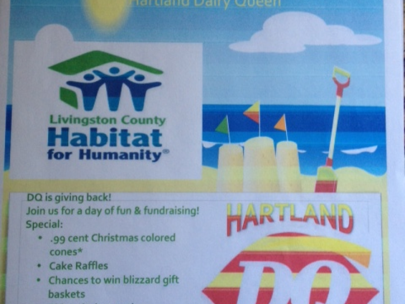 Hartland Dairy Queen Christmas In July. Come Join Hartland Dairy Queen  Raise Money For The Livingston County Habitat For Humanity!