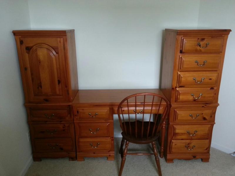 Dresser Desk Set