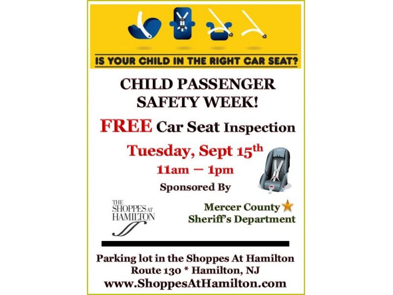 child passenger safety week new brunswick nj patch. Black Bedroom Furniture Sets. Home Design Ideas