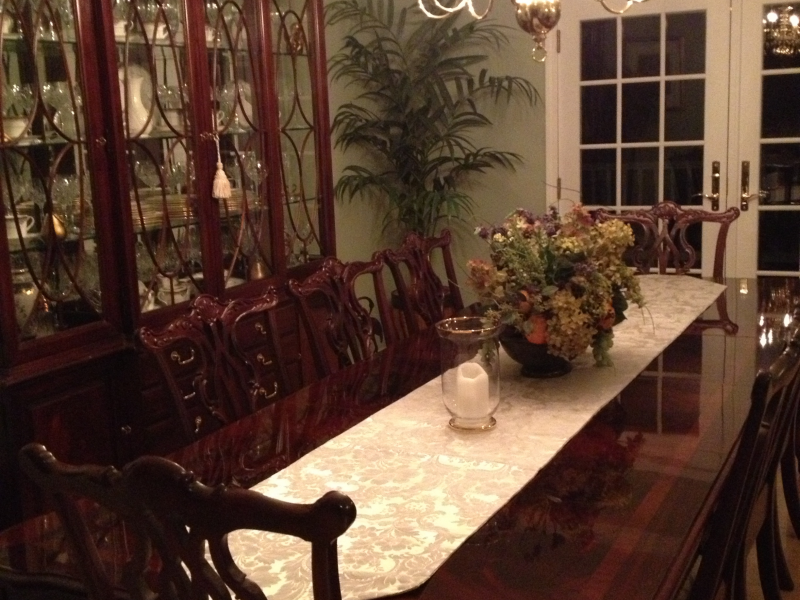 thomasville mahogany dining room set - red bank, nj patch