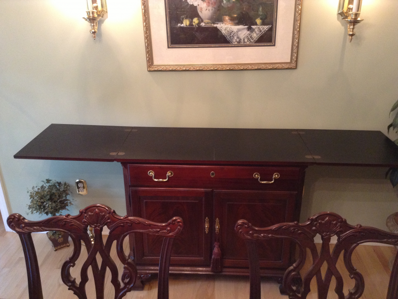 Thomasville Mahogany Dining Room Set | Red Bank, NJ Patch