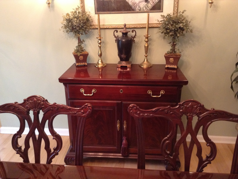 Ordinaire Thomasville Mahogany Dining Room Set | Red Bank, NJ Patch