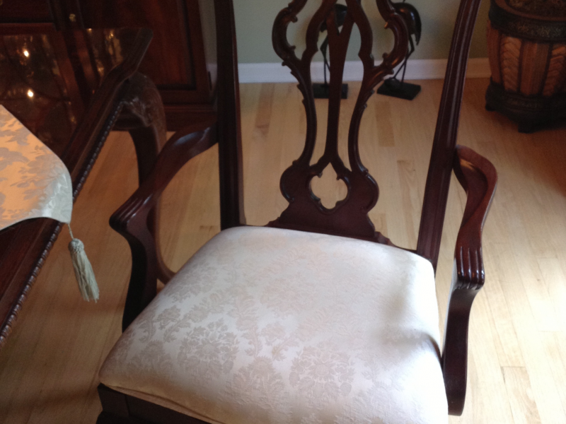 ... Thomasville Mahogany Dining Room Set 0 ...