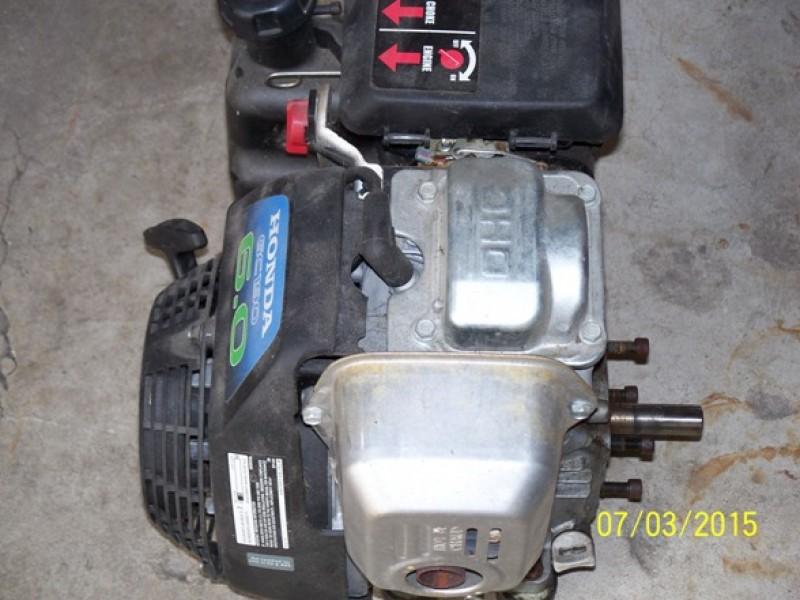 Honda GC 190 6 HP Horizontal Shaft Utility Motor for power washers