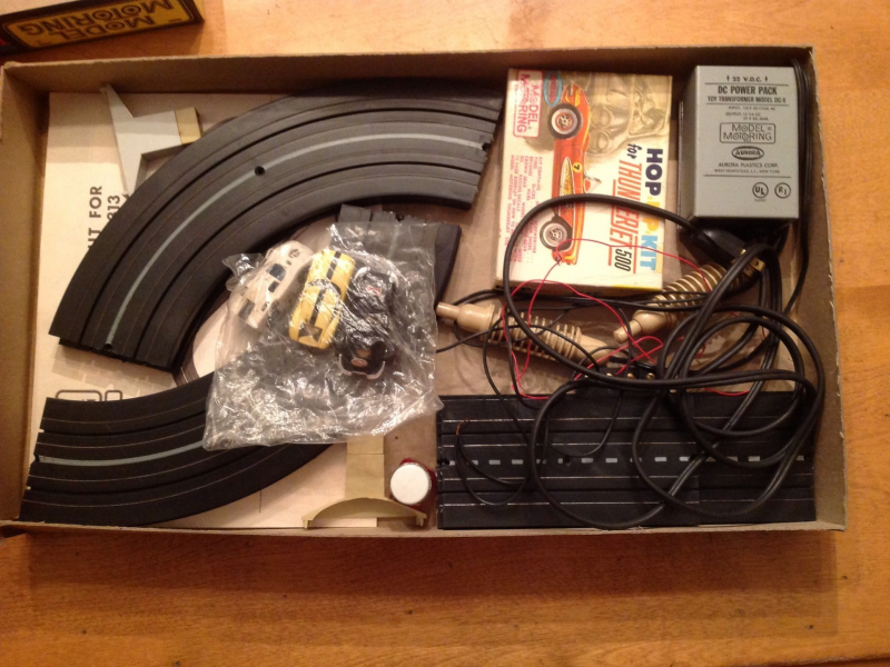 Wanted: Vintage Aurora HO scale Slot Racing sets. cars, track, etc ...