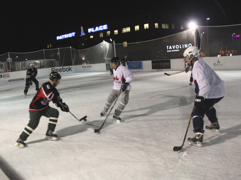 Pond Hockey Tournament Returns To Winter Skate At Patriot Place
